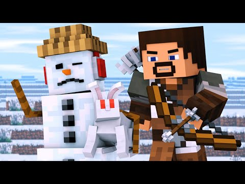 Snowman & Villager Life 3 - Minecraft Animation