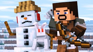 Snowman & Villager Life 3 - Minecraft Animation