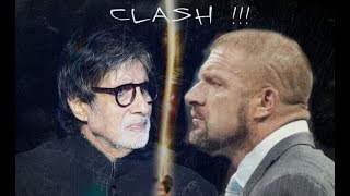 Triple h rocking amitabh bachchan's famous dialogue (wwe and bollywood)