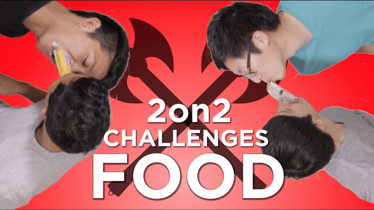 FOOD CHALLENGE with Marlin Chan & Will Pacarro | 2v2 ...