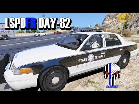 "GTA5 LSPDFR Day 82 ""North Carolina Highway Patrol"""