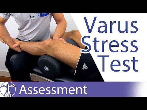 Varus Stress Test of the Knee⎟Lateral Collateral Ligament
