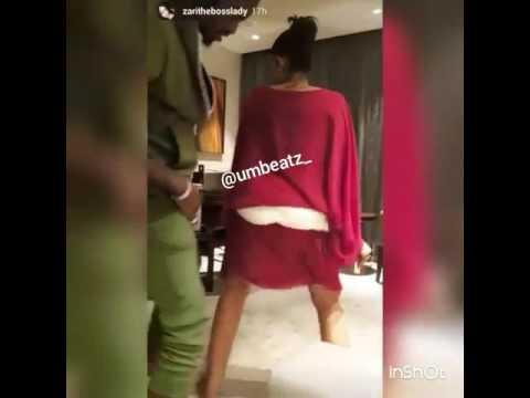 zari boss lady alikvyokuwa kata mauno mbele ya mume wake thumbnail