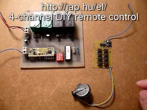 DIY remote control based on PIC