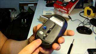 Microsoft Wireless Mouse 3500 Unbox and review