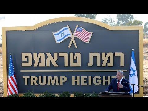فيديو: -هضبة ترامب- مستوطنة جديدة في الجولان ... هكذا عبر نتنياهو عن شكره لترامب…  - نشر قبل 6 ساعة
