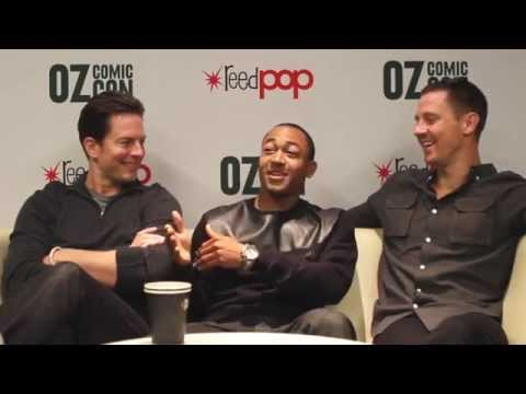 : Michael Muhney, Percy Daggs III, Jason Dohring from Veronica Mars at Oz Comic Con