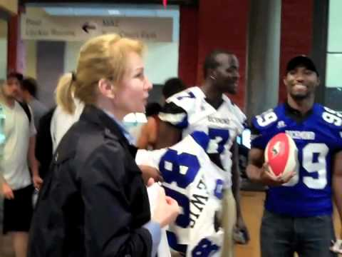 Richmond Raiders Visit Cary Street Gym