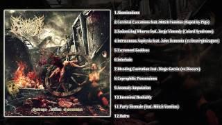 Carnivorous Eyaculation - Grotesque Inhuman Extermination (FULL ALBUM 2015/HD)