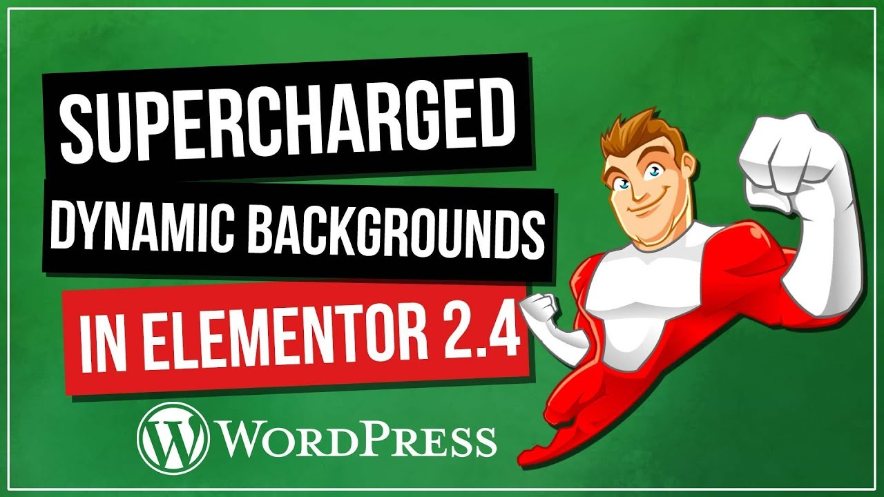 Elementor 2 4 Dynamic Responsive Background Images Youtube