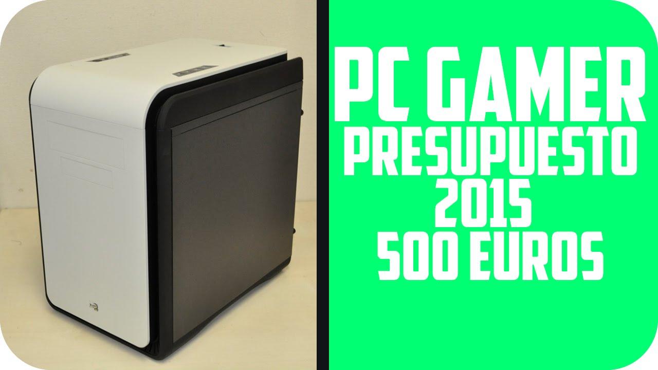 presupuesto pc gamer barato 500 euros pc gamer amd barato. Black Bedroom Furniture Sets. Home Design Ideas