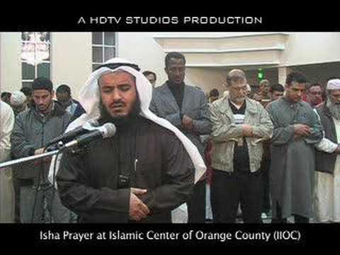 Surah Al Qiyaamah - Mishary Al-Afasy at IIOC - Isha Part 1