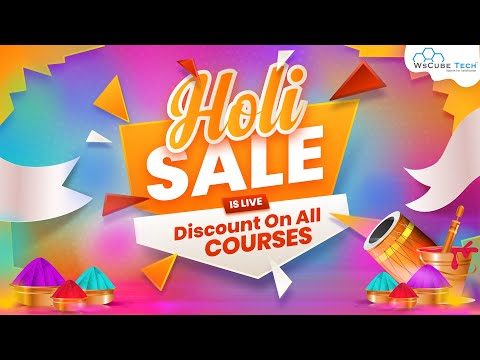Golden Offer – 40% off on all Courses of WsCube Tech (Limited Time offer – 24th -30th March)