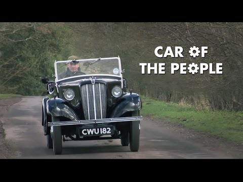 What's the Greatest Machine of the 1930s...the Morris Eight?