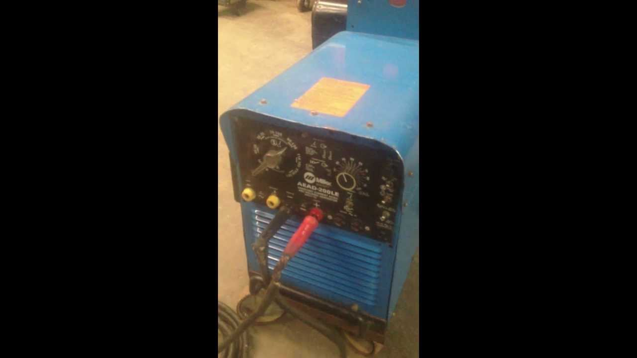 maxresdefault miller aead 200 le youtube miller bluestar 2e wiring diagram at edmiracle.co
