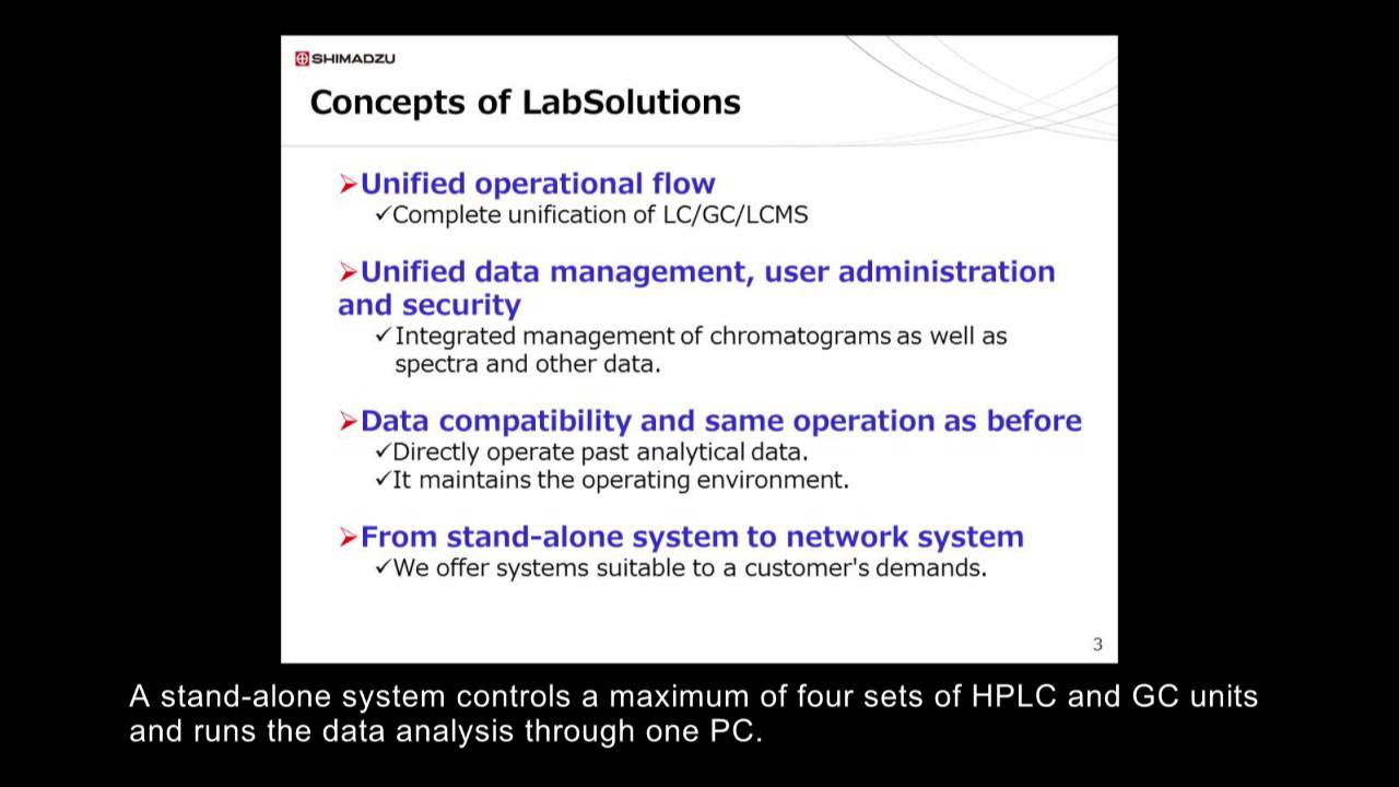 Shimadzu LabSolutionsCS Introduction