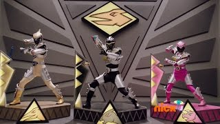 Dino Super Charge - Love at First Fight - Megazord Fight (Episode 11)  Power Rangers Official