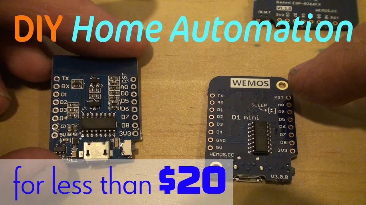 Control Your Home with iOS App and WeMos D1Mini (Source Code INCLUDED)