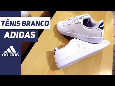 Tênis Adidas Branco - Advantage Clean Masculino - Unboxing