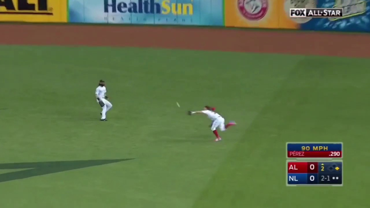 Bryce Harper Amazing Diving Catch All Star Game
