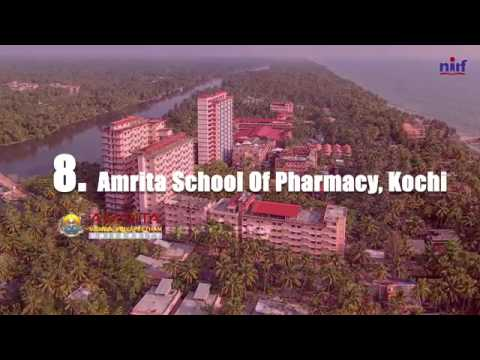 Top 10 Pharmacy Institutions: India Rankings 2016 (NIRF)