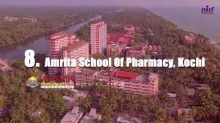 Top 10 Pharmacy Institutions: India Rankings 2016 (NIRF)