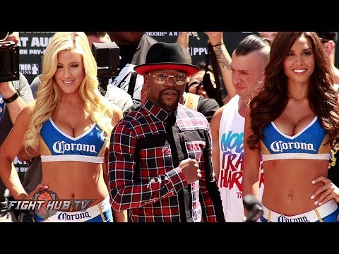 Thumbnail: FLOYD MAYWEATHER'S FULL GRAND ARRIVAL FOR THE MAYWEATHER MCGREGOR FIGHT