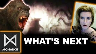 Kong Skull Island End Credits - Godzilla King of Monsters