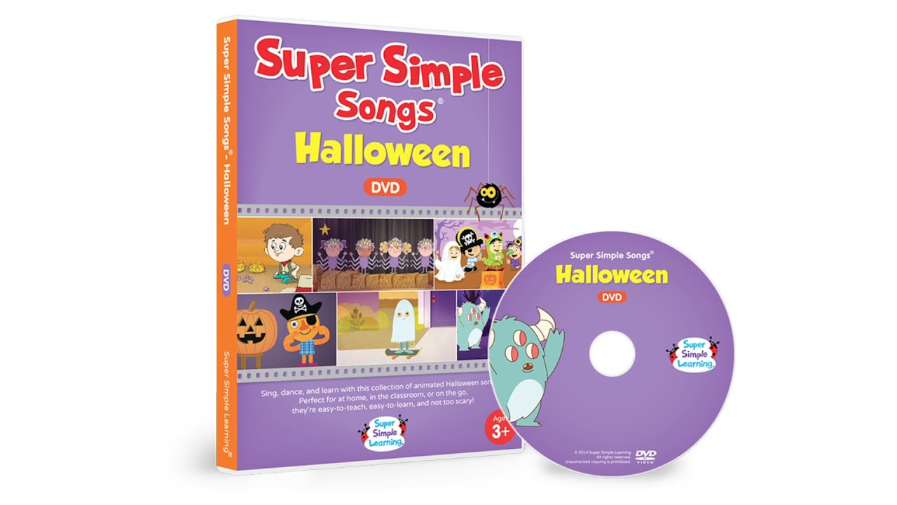 super simple songs halloween dvd trailer youtube - Super Simple Songs Christmas