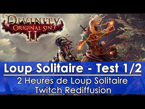 [FR]Divinity: Original Sin 2 - Loup Solitaire Test (1/2)(Twitch Rediffusion)
