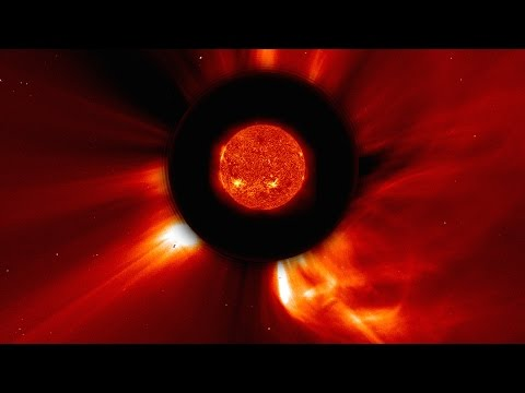 NASA | Many Views of a Massive CME