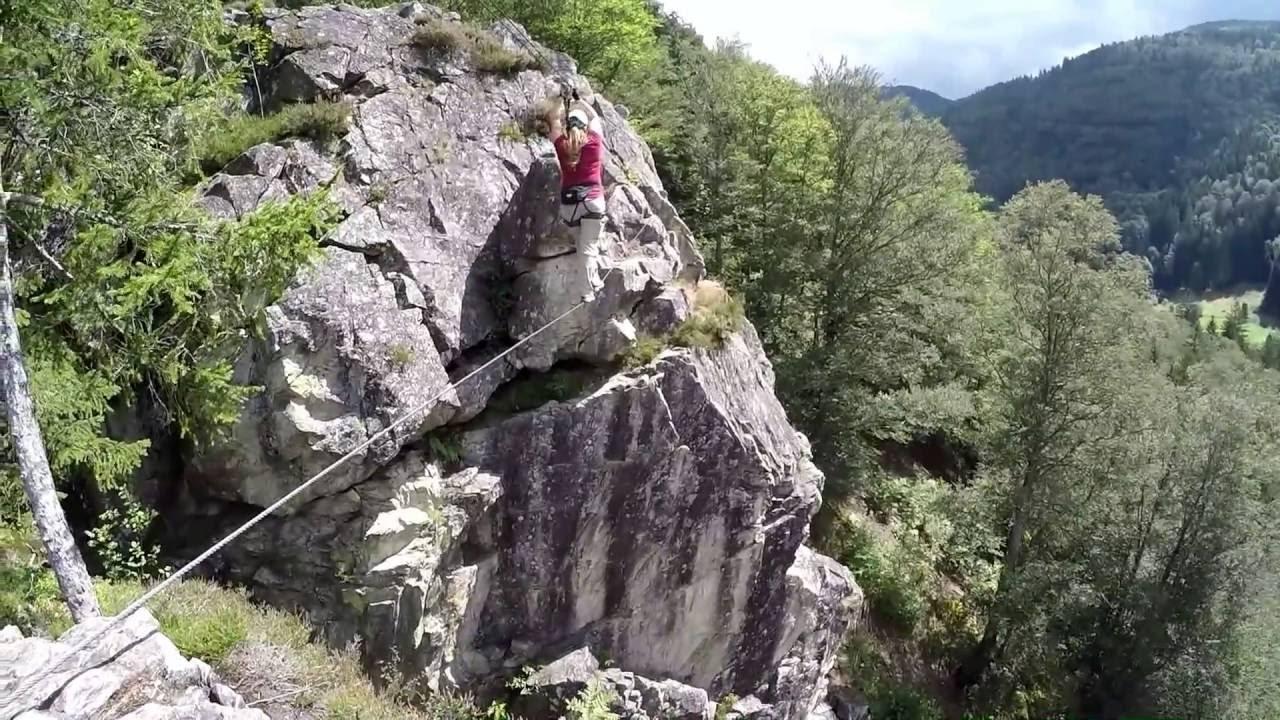Klettersteig Chamonix : Klettersteig todtnau youtube