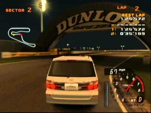 Enthusia Professional Racing: Tsukuba Circuit - Night (Alphard V)
