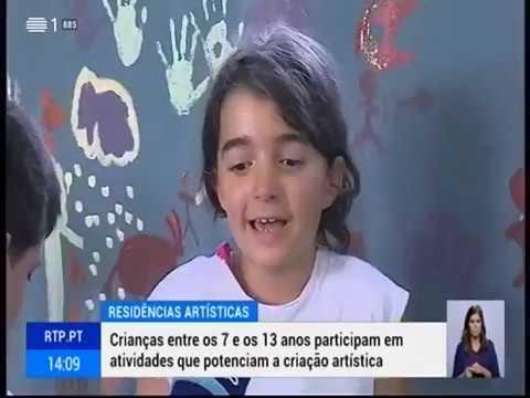 Art Camp 2019 - Reportagem RTP