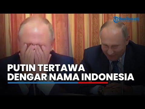 Presiden Rusia Tak Henti Tertawa Usai Dengar Nama Indonesia Disebut, Ini Penyebabnya