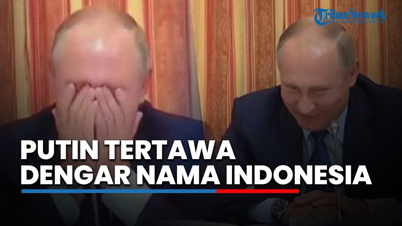 Download Presiden Rusia Tak Henti Tertawa Usai Dengar Nama Indonesia Disebut, Ini Penyebabnya