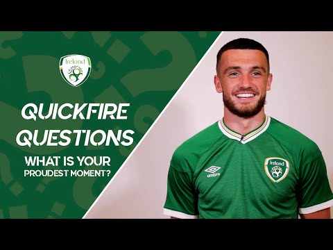 QUICKFIRE QUESTIONS   What is your proudest moment?