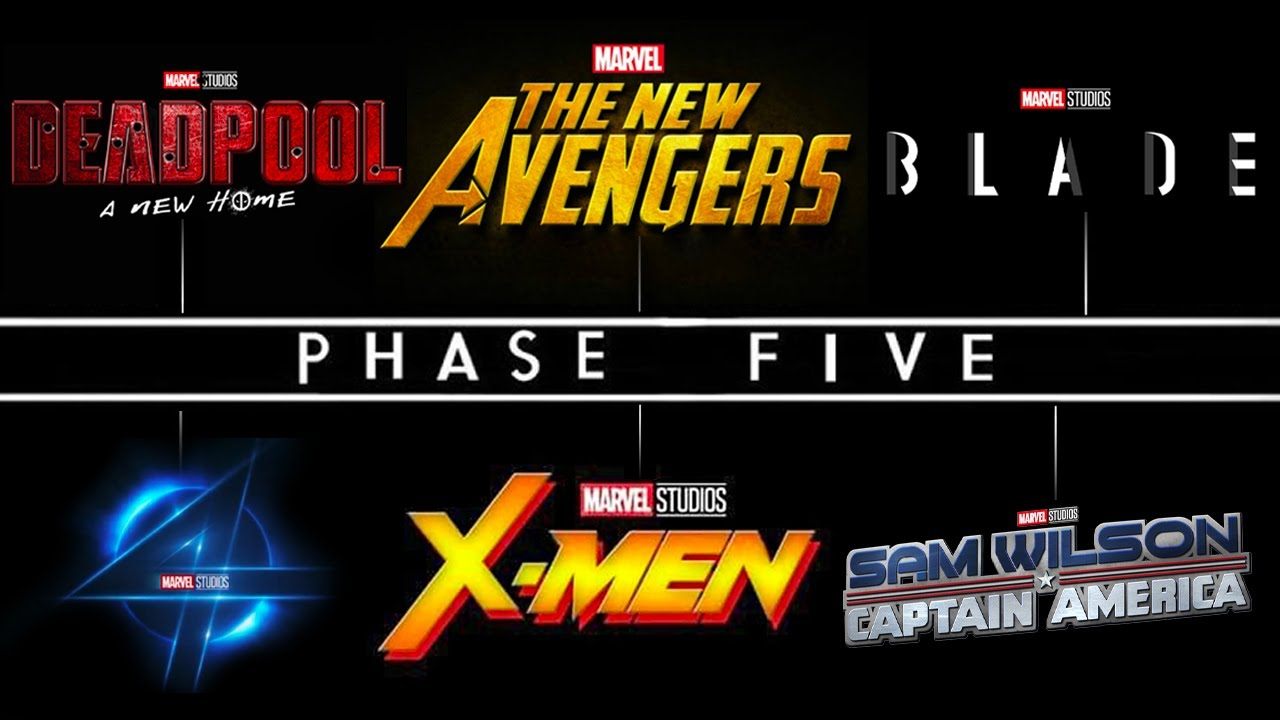 Download Marvel REVEALS NEW PHASE 5 MOVIE Release Dates! Deadpool 3, Fantastic Four, Captain America 4