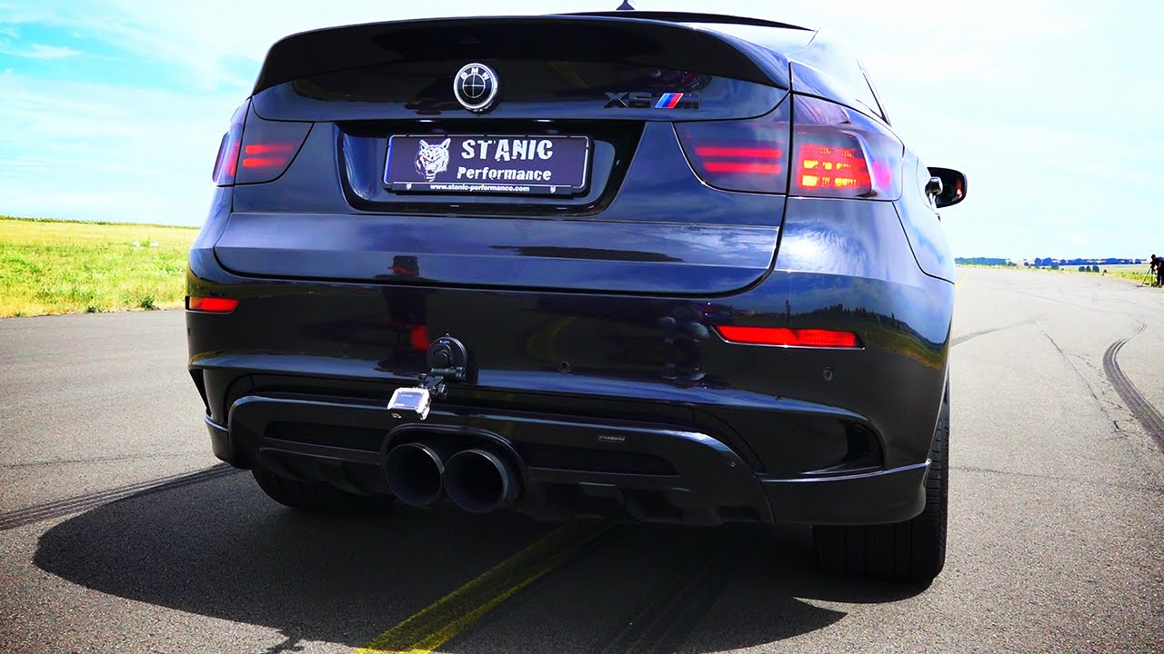 Bmw X6 M Sound V8 By Stanic Performance Exhaust Revs