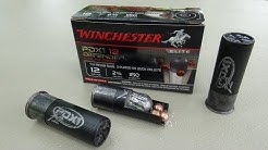 Winchester PDX1 12 Defender (12 gauge) Gel Ammo Test