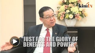 Boycotting PD by-election shows Umno's struggle is not for ideals and principles, says Guan Eng