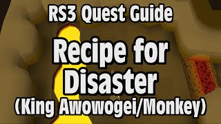 RS3: Recipe for Disaster (King Awowogei/Monkey) Quest Guide - RuneScape