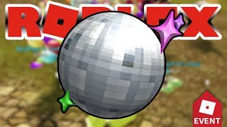 How to get Disco Ball Helmet in Roblox Pizza Party Event 2019