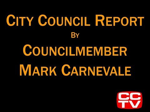 Councilmember Mark Carnevale and the Greater Coachella Valley Chamber of Commerce