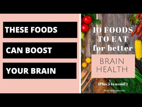 10 foods to eat for better brain health