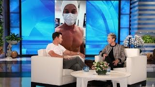 Mark Wahlberg on Using Nipple Covers in a Cryo Chamber