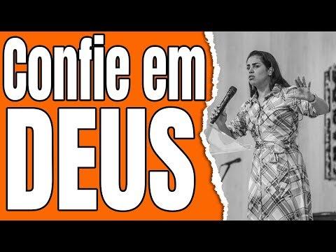 Pregação Confie em Deus - Camila Barros