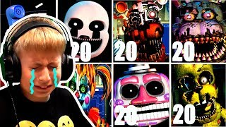 НА МАКСИМАЛКАХ Новый ОФИС ФНАФ ЧЕЛЛЕНДЖ Five Nights at Freddy s Ultimate Custom Night ФНАФ Анимация