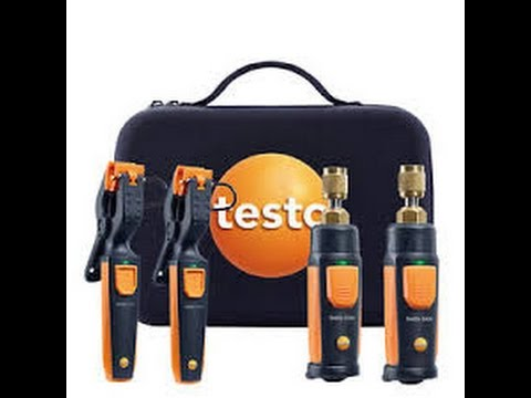 testo Smart Probes Refrigeration Set Overview/Review