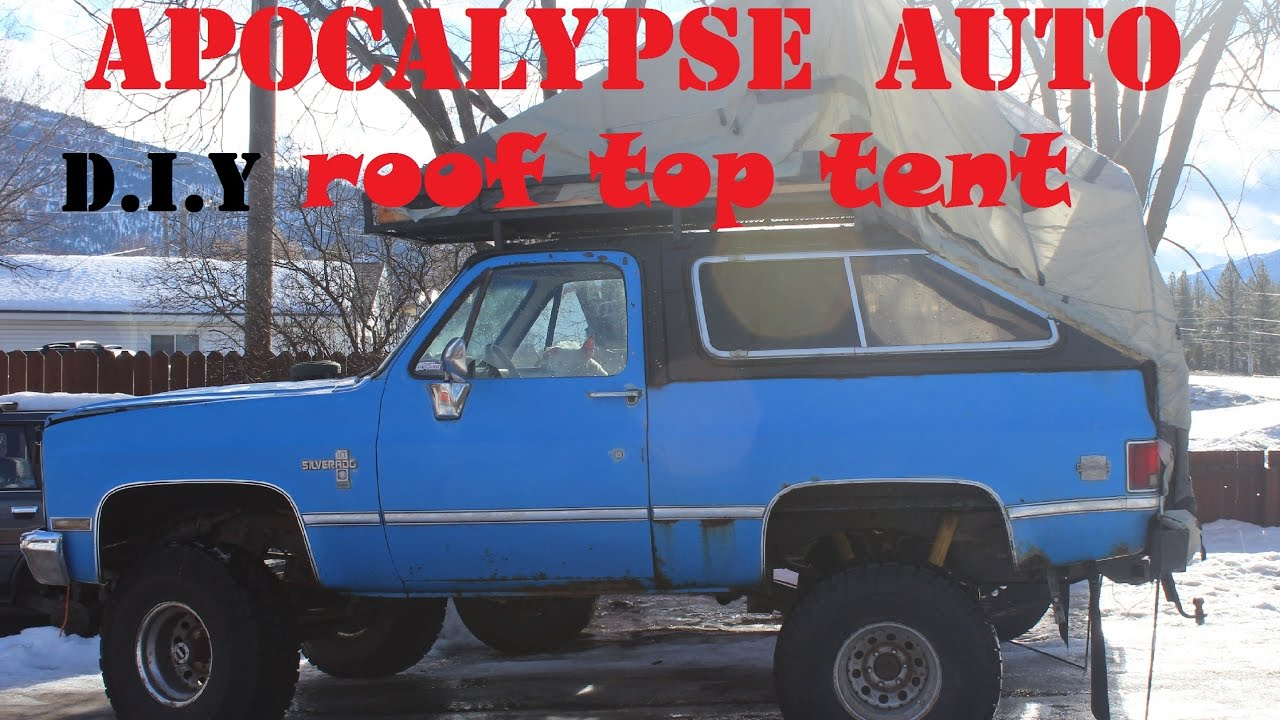 D.I.Y ROOFTOP TENT & D.I.Y ROOFTOP TENT - YouTube
